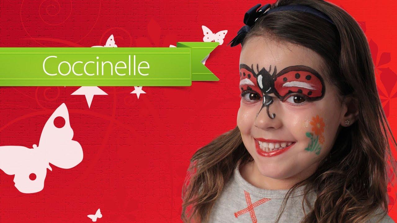 Maquillage enfant carnaval coccinelle youtube - Disfraz de mariquita bebe ...
