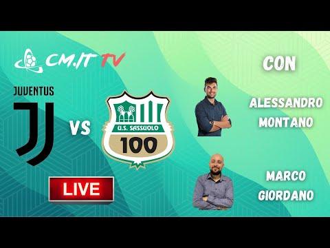 🔴Juventus-Sassuolo LIVE! Cronaca in DIRETTA e commento [NO Streaming]