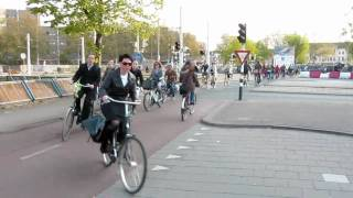 Bicycle Rush Hour Utrecht (Netherlands) III