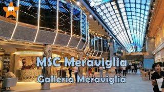 La galleria Meraviglia è la parte principale della MSC Meraviglia, ...