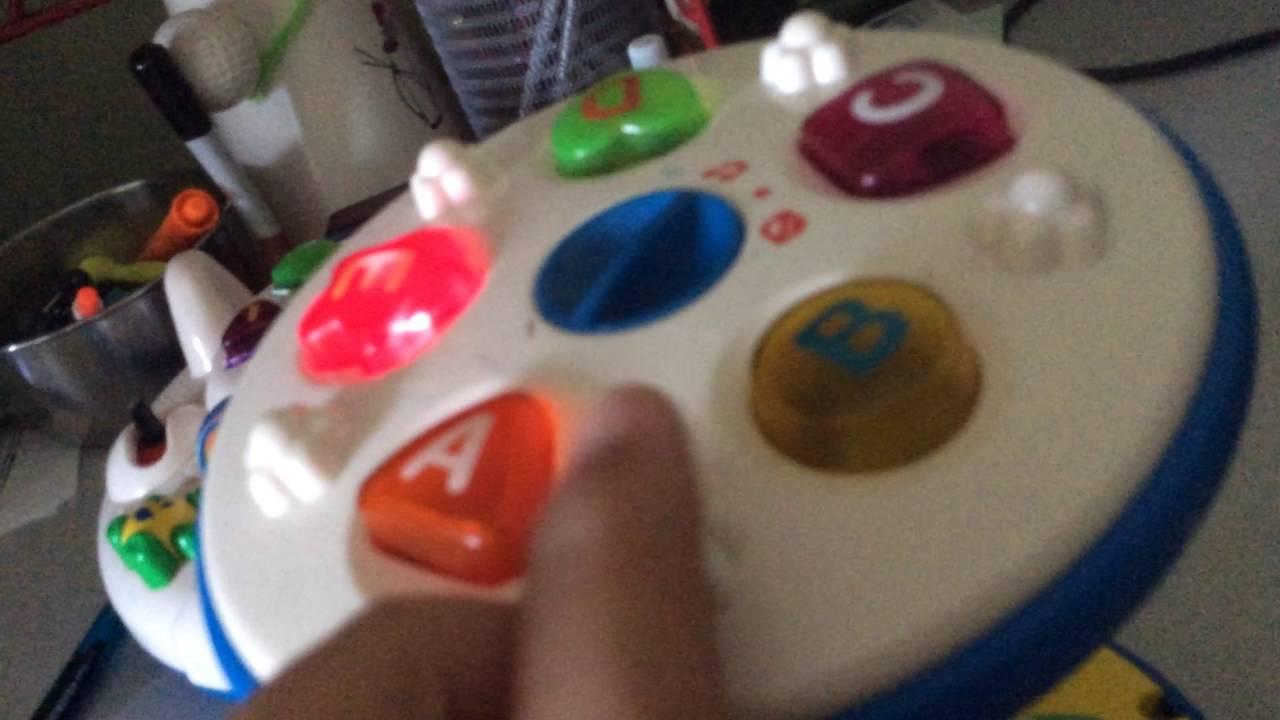 Vtech Little Smart Spin N Go Lights Youtube Wrongbot Circuit Bent Elmo39s World