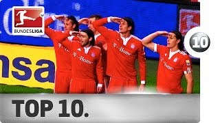 Top 10 Goal Celebrations