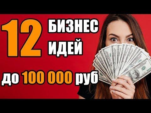 Топ-12 Бизнес Идей с Минимальными Вложениями. Бизнес Идеи до 100 тысяч рублей. Бизнес Идеи
