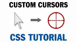 Custom Mouse Cursor Tutorial Canvas CSS HTML