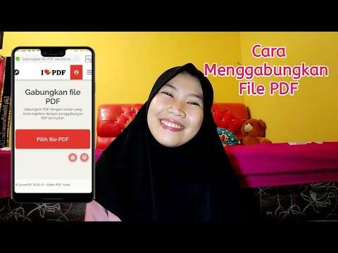 #part2 Cara Menggabungkan File PDF| I Love PDF