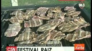 C5N  - Viva la tarde: Festival Raiz