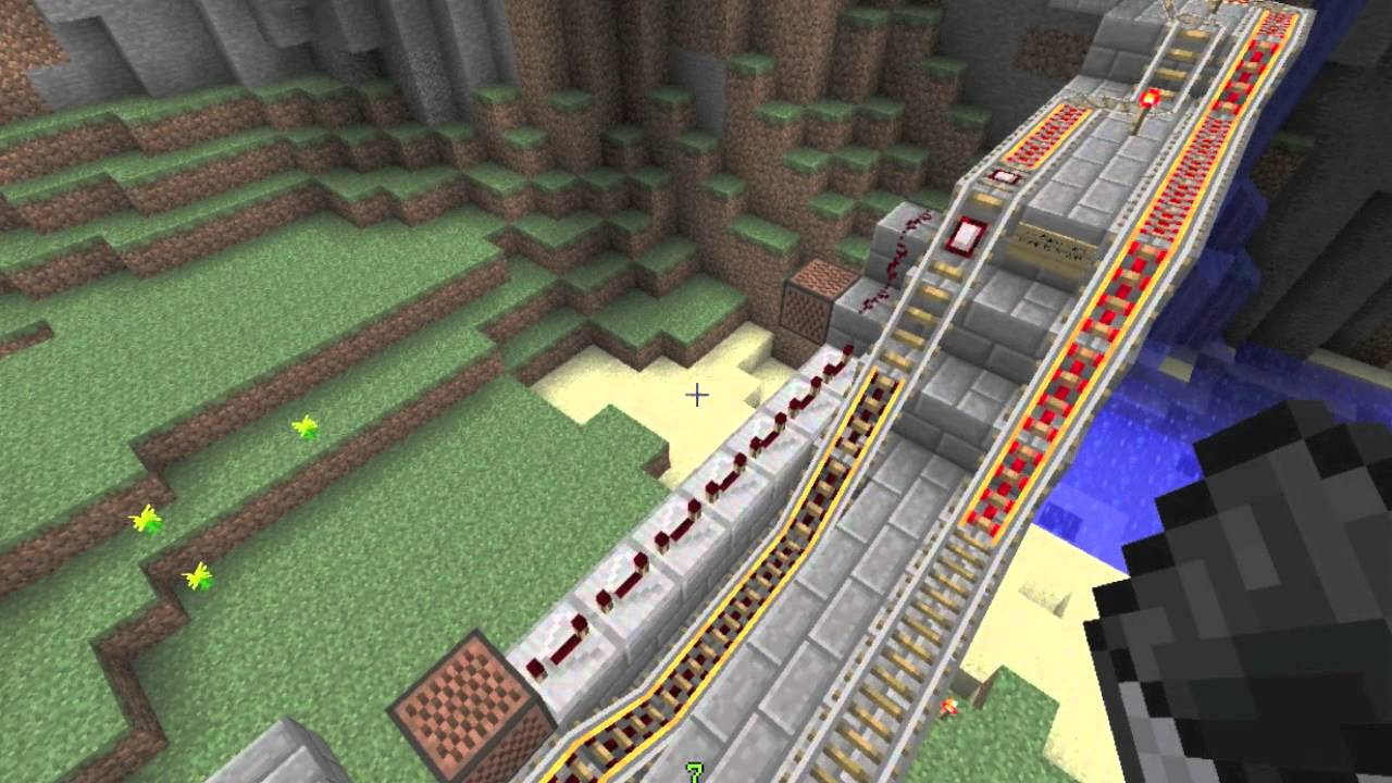 Automatic Stop and Go Minecart Station - Automatic Stop and Go Minecart Station