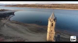 El pantano del Ebro, a vista de dron