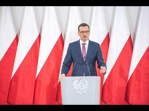 Mateusz Morawiecki podczas spotkania w Chełmie
