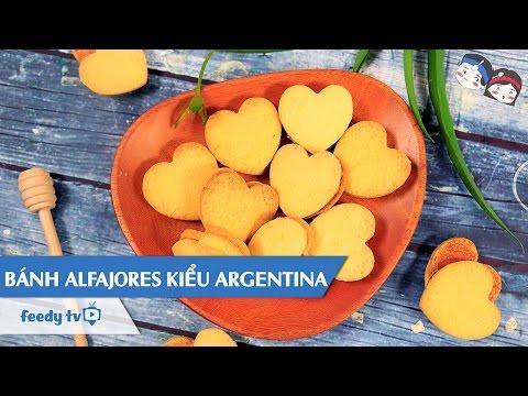 Hướng dẫn cách làm bánh Alfajores kiểu Argentina với #Feedy