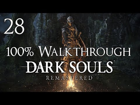 Dark Souls Remastered - Walkthrough Part 28: Crystal Caverns + Seath the Scaleless