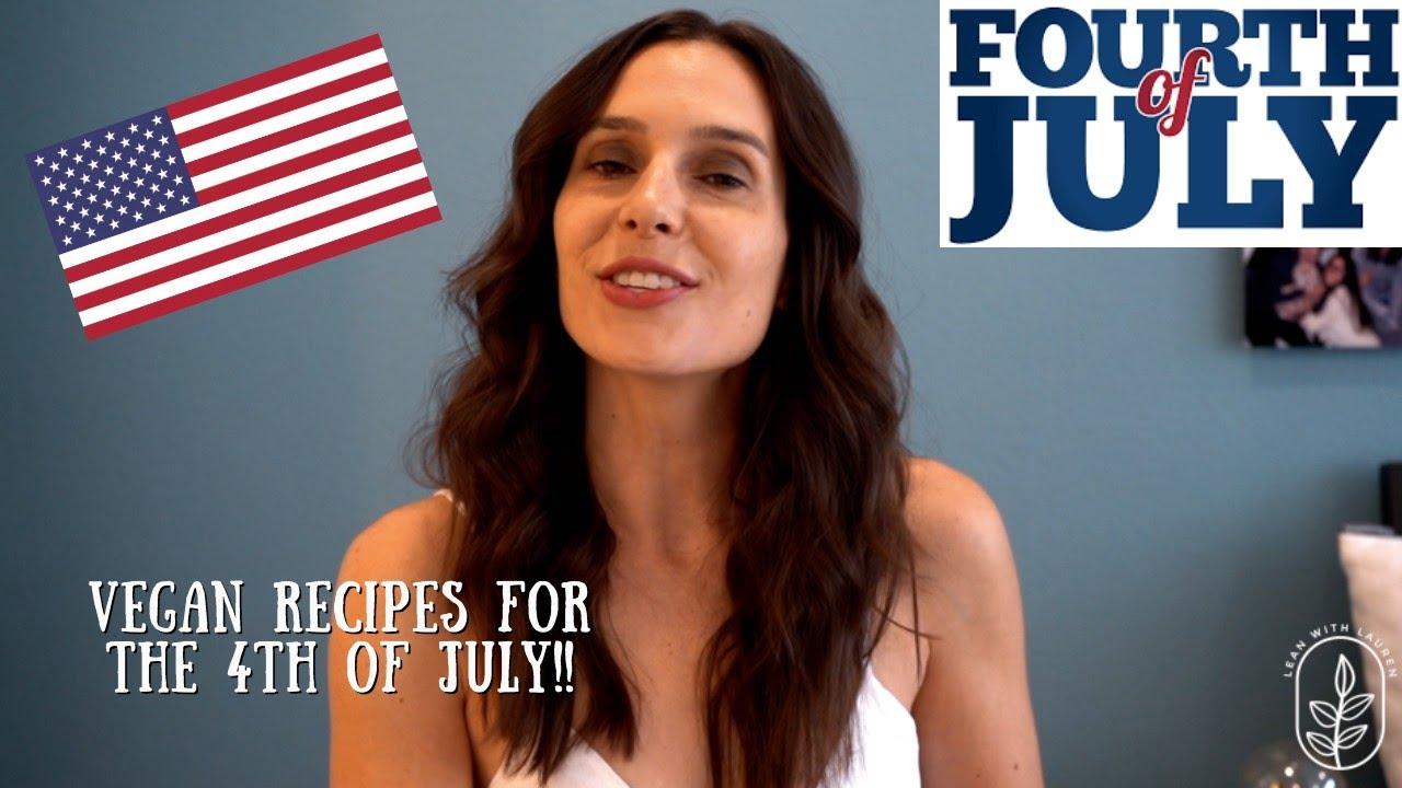 Vegan 4th of July Recipes (Southwestern Pasta Salad, Brownies)