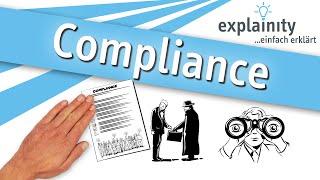 Compliance einfach erklärt (explainity® Erklärvideo)