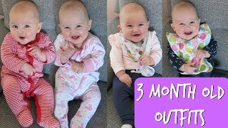Baby Outfits For A Week | 3 Month Old