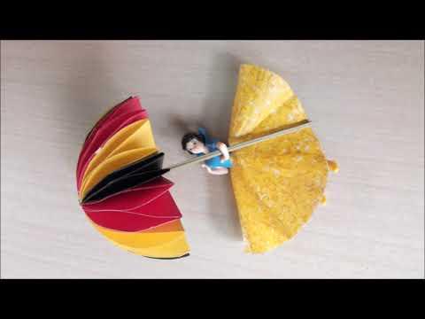 DIY-Kids Craft : Colorful Paper Umbrella
