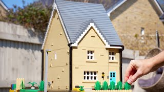 Incredible LEGO House with Full Interior Detail 3152 Piece Build BBC FEATURED Stewart Milne