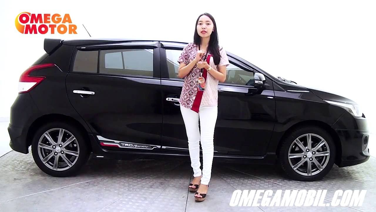 Toyota Yaris 2014 Trd Bekas Grand New Avanza Vs Veloz Mobil 1 5 S Sportivo At Youtube