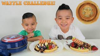 Avengers Waffle Challenge Captain America Shield CKN Toys