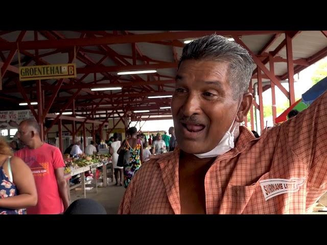 Suriname Leeft | Kwattamarkt leeft!