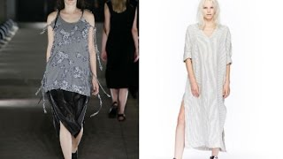 Модные женские туники на весну и лето
