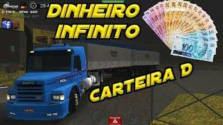 Saiu!! Grand truck simulator com dinheiro infinito e carteira D