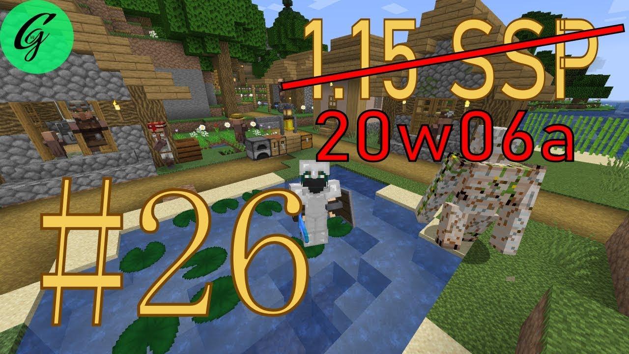 Minecraft 1.15/20w06a SSP #26 - YouTube