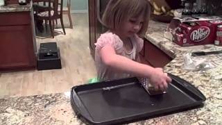 How A Kid Can Use A Safe Step Stool In A Kitchen