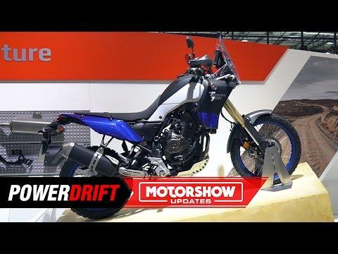 Yamaha Tenere  : Pure Adv : EICMA  : PowerDrift