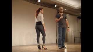 Troy and Jorjet - Dominican Bachata workshop, Vancouver International Salsa Festival 2011 thumbnail