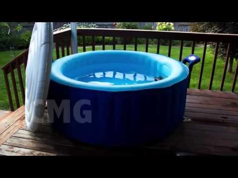 Spa Hinchable Blue Sea Youtube