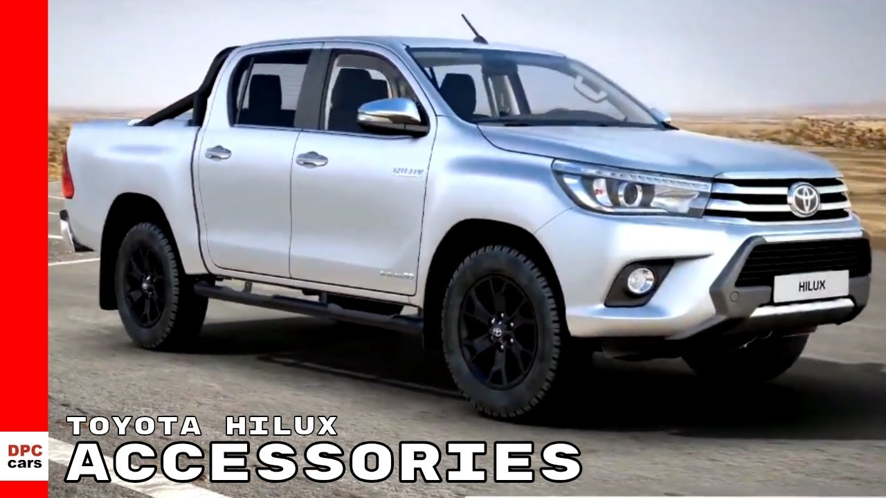 Toyota Hilux Truck Accessories 2019 Youtube