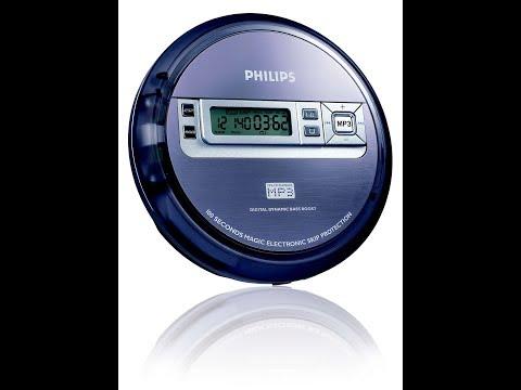 Unboxing Tocador de CD MP3 Player Portátil PHILIPS  EXP2550