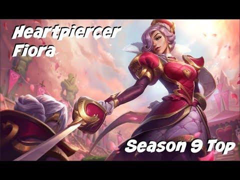 League of Legends: Heartpiercer Fiora Top Gameplay