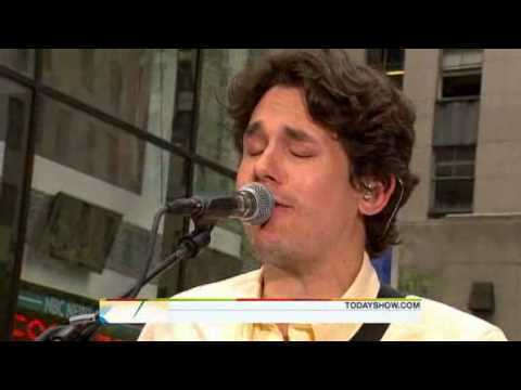 John Mayer - Half Of My Heart [ Live Today Show...