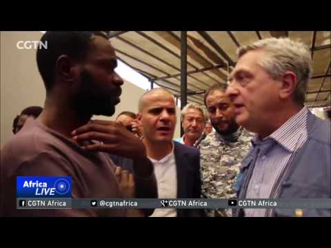 UNHCR chief urges Libya to improve conditions in detention centres