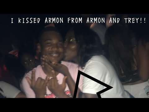 I KISSED ARMON FROM ARMON AND TREY!! // Fever Tour 2k18