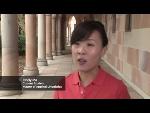 Master of Applied Linguistics at UQ