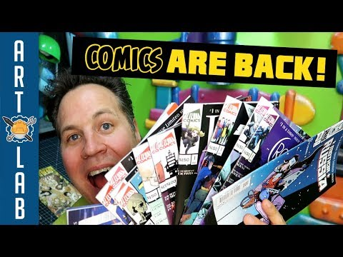 Why I'm So Excited About Comics Again!