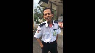 Sebak Dengar Khalis Adik Achik Spin Kerja Security Guard Nyanyi Lagu Arwah Abangnya!