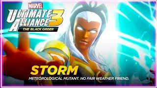 Storm and Black Panther Join the Alliance! Klaw attacks! Ultimate Alliance 3