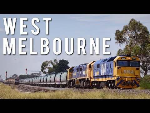 45 Minutes of freight around West Melbourne (Sunshine) | 26.1.18