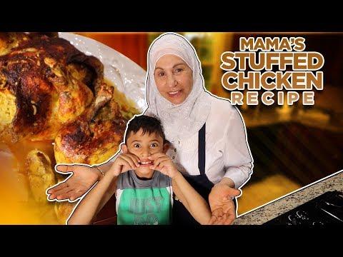 Mamas Stuffed Chicken Recipe!