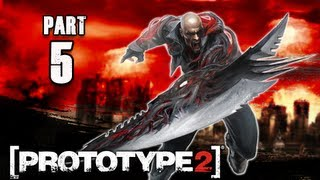 Prototype 2 Walkthrough - Part 5 Brain Drain PS3 XBOX PC  (P2 Gameplay / Commentary)