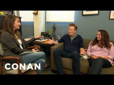 Conan & Sona Meet With Human Resources - CONAN on TBS