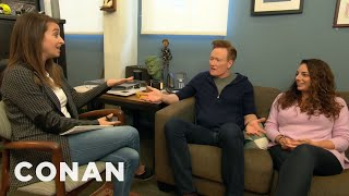 Download Conan & Sona Meet With Human Resources - CONAN on TBS Mp3 and Videos