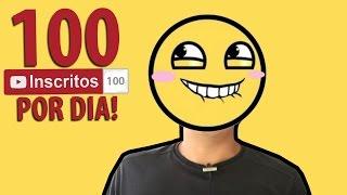 Como Divulgar o Seu Canal do Youtube e Ganhar no Minimo 100 Inscritos por dia thumbnail