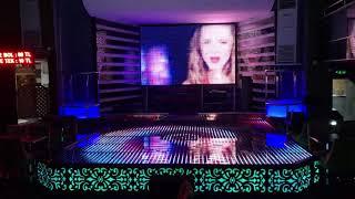12mm pixel led sahne arkası ve Sahne yer uygulama Emin Ali Tuğcu
