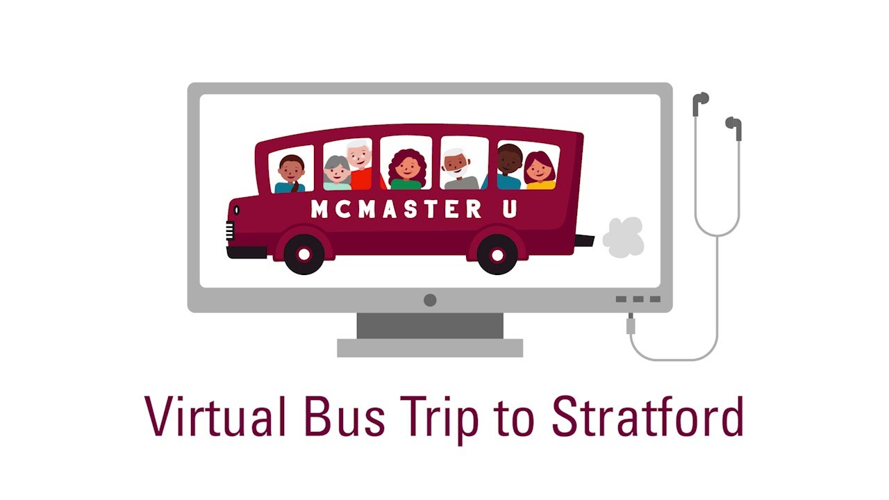 Image for Virtual Bus Trip to Stratford webinar