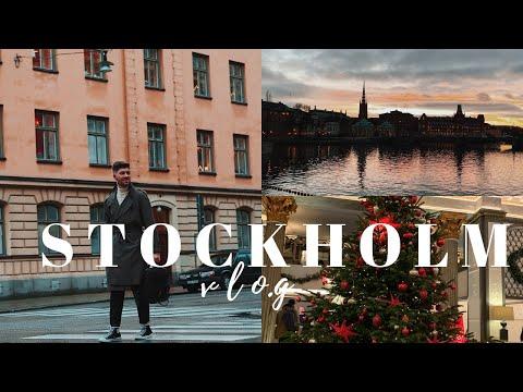 STOCKHOLM VLOG 2018 | CHRISTMAS IN STOCKHOLM