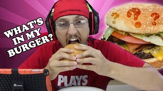 WHAT'S IN MY BURGER?  (FGTEEV iOS Creating Food Game)